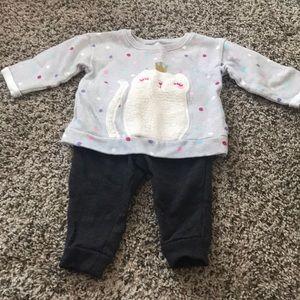 12m BabyGirl matching sets